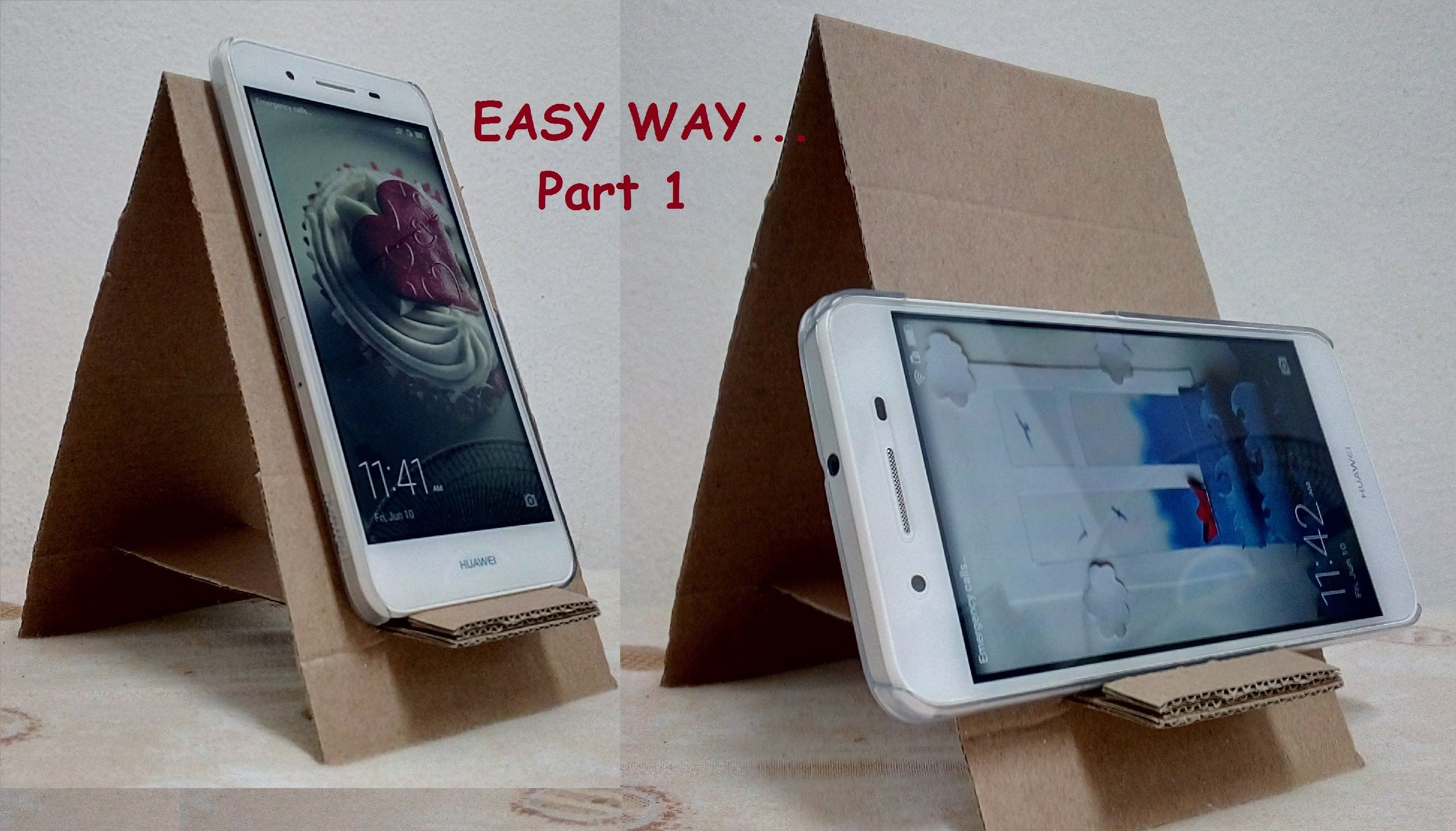 5 Diy Phone Stand You Can Make Easy By Yourself Crafts