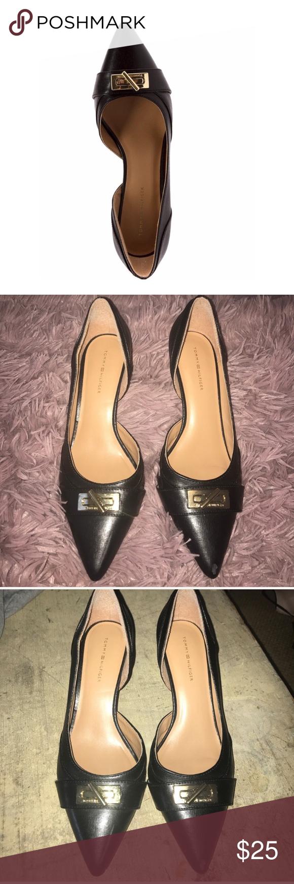 0db2183c302a7a Tommy Hilfiger Joetta D Orsay heels
