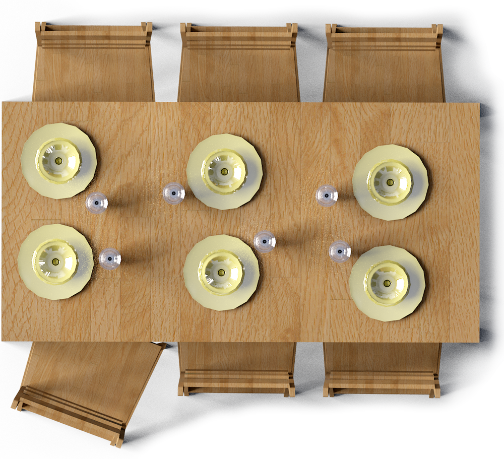 table and chairs top view png. markor table and harald chairs top view png c
