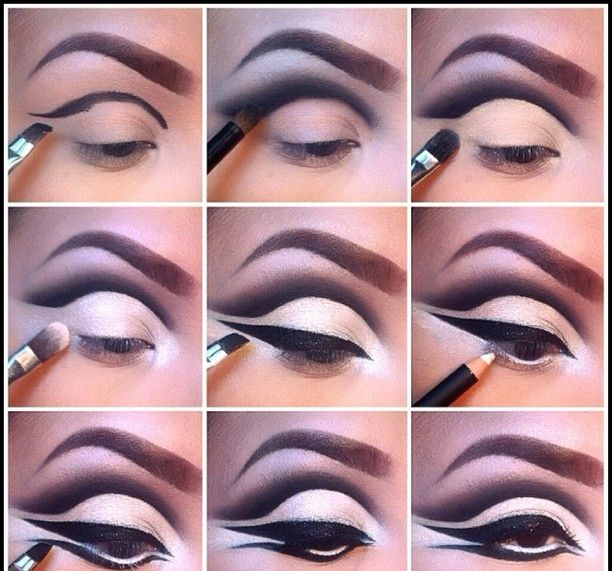 Eccezionale 13 Best Night Eye Makeup Tutorials | Queens, Rock and Makeup IU74