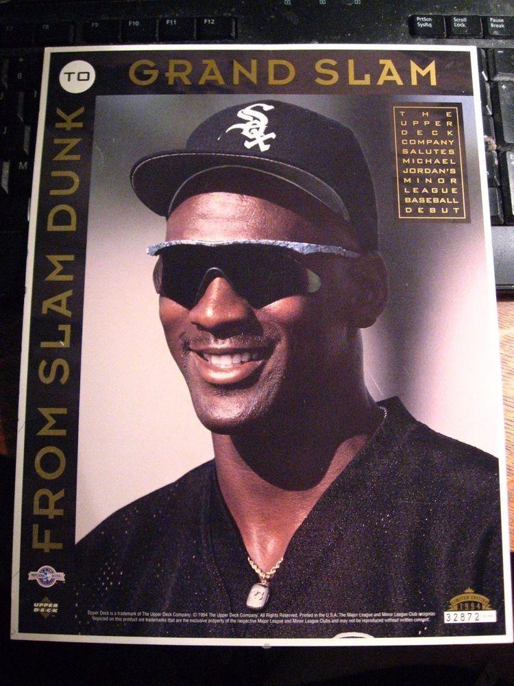 Michael Jordan Baseball Card Vintage 1994 White Sox Upper Deck 8 1