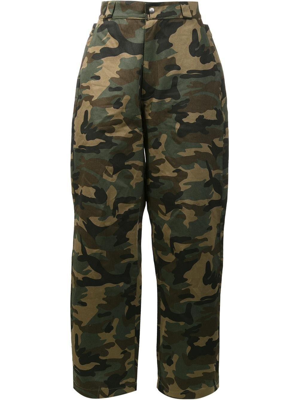HOOD BY AIR camouflage print trousers. #hoodbyair #cloth #