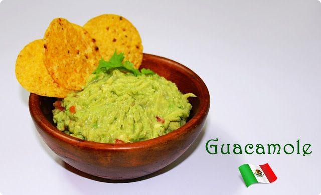 Guacamole (fácil) - LAS SALSAS DE LA VIDA