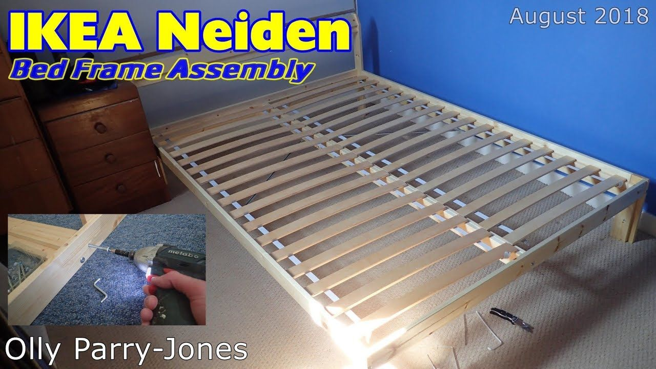 Ikea Neiden Bed Frame Aseembly Bed Frame Mattress Bed Frame Bed Frame Hack