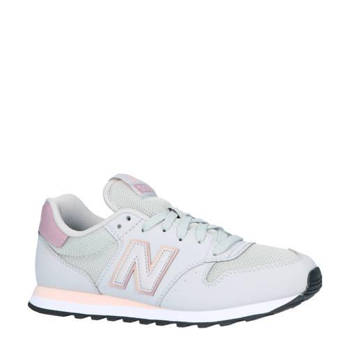 New Balance 500 sneakers licht grijs | Sneaker, New balance ...