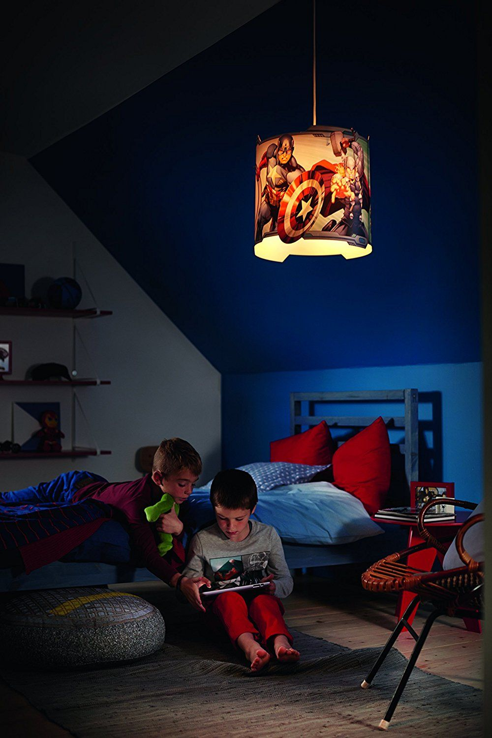 Image result for 5 year old boys superhero bedroom room