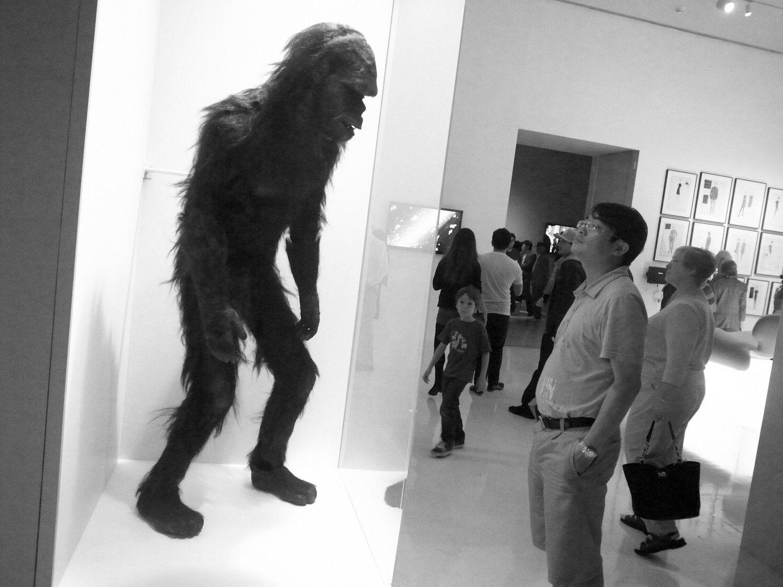 2001 monkey suit on display