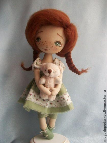 Коллекционные куклы ручной работы. Ярмарка Мастеров - ручная работа Кукла Рыжее чудо. Handmade.