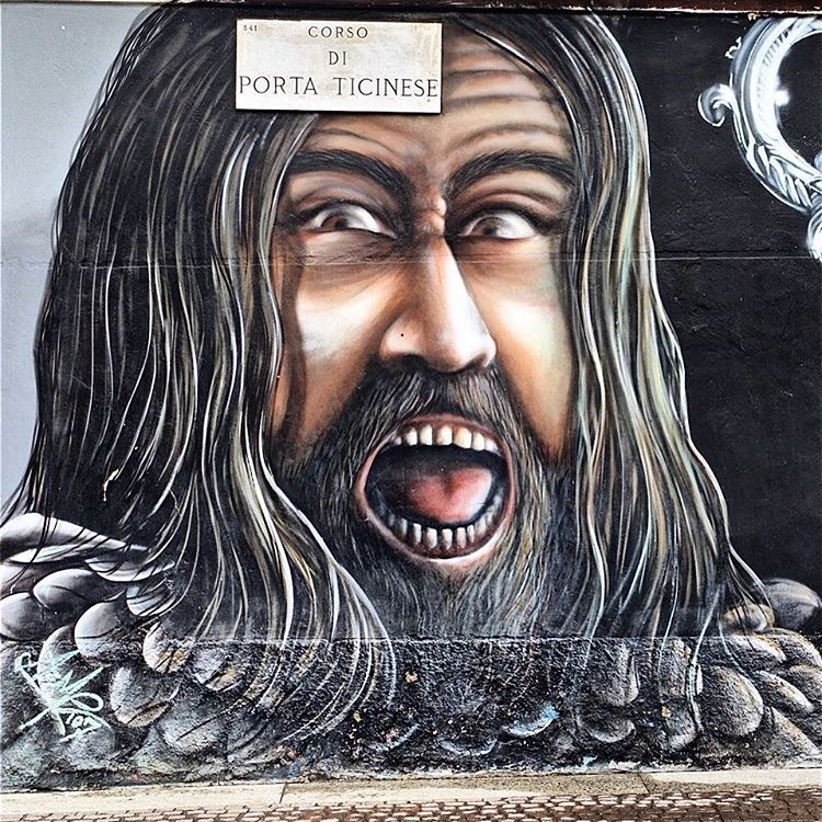 Milano Attila di Acme 107 #milano#vivomilano#ig_milano#loves_milano#igersmilano#milanodavedere#instamilano#art#graffiti#street#artwork#instaart#instaartist#wall#urbanart#mural#graffitiart#streetarteverywhere#instagraffiti#streetartistry#urbanwalls#graffitigers#spraycan#streetart#loves_urban#loves_cultures#igphotoworld#igersbestshot#loves_united_team#ig_europa by loulou_de_la_lagune