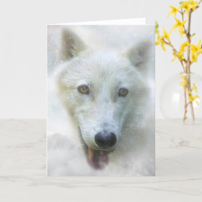 ARCTIC WOLF SNOW PIERCER CARD #AD SNOW, #PIERCER, #CARD, #Shop, #ARCTIC