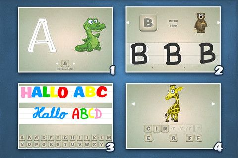 Playground HD3 - ABC Edition The kids app to learn how to write le