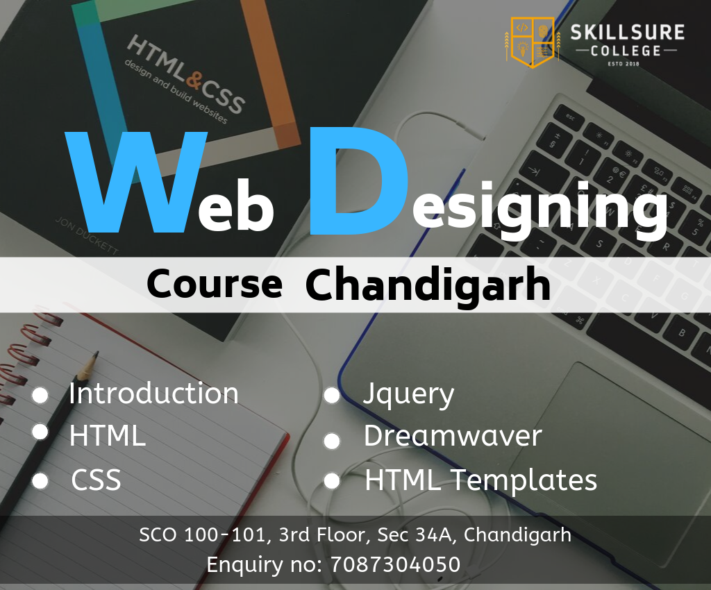 Skillsurecollege Com Is Iso Certified Institute Provide The Best Training In Advanced Web Designing Course With Web Design Course Web Design College Design