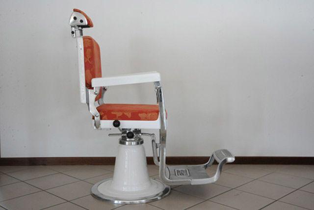 Sedie barbiere ~ Plate poltrona da barbiere poligoni linea ready made