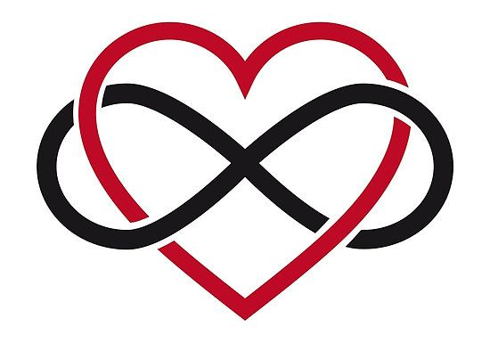 Tattoo I Want Heart With Infinity Life Lessons Pinterest