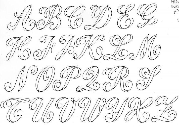 картинки шаблоны красивых шрифтов него