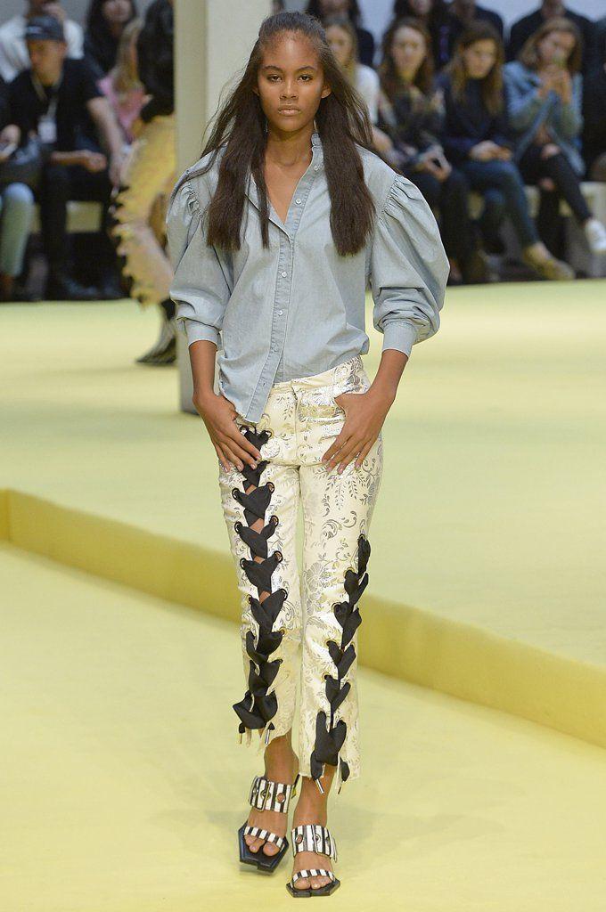 Lace-Up Pants Trend | POPSUGAR Fashion