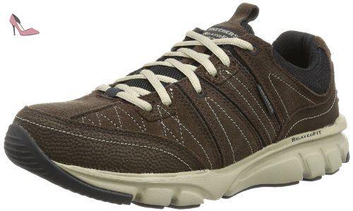 Chaussures de course Skechers Homme Flex Advantage 2.0 Missing Chaussures Gris ~ iLocal
