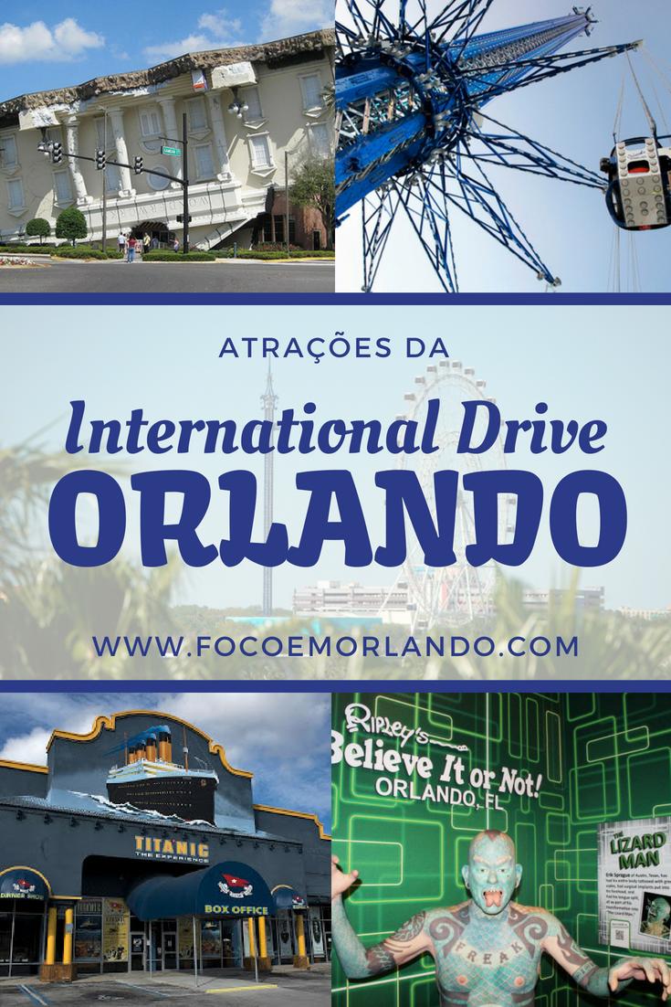 As atrações da International Drive Hotels near disney