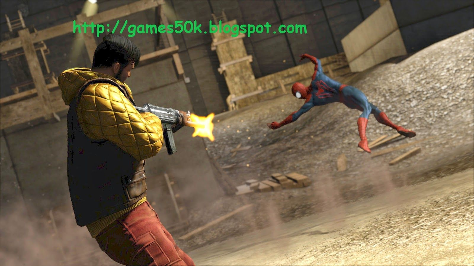 Free Download THE AMAZING SPIDERMAN 2 Game for PC Free
