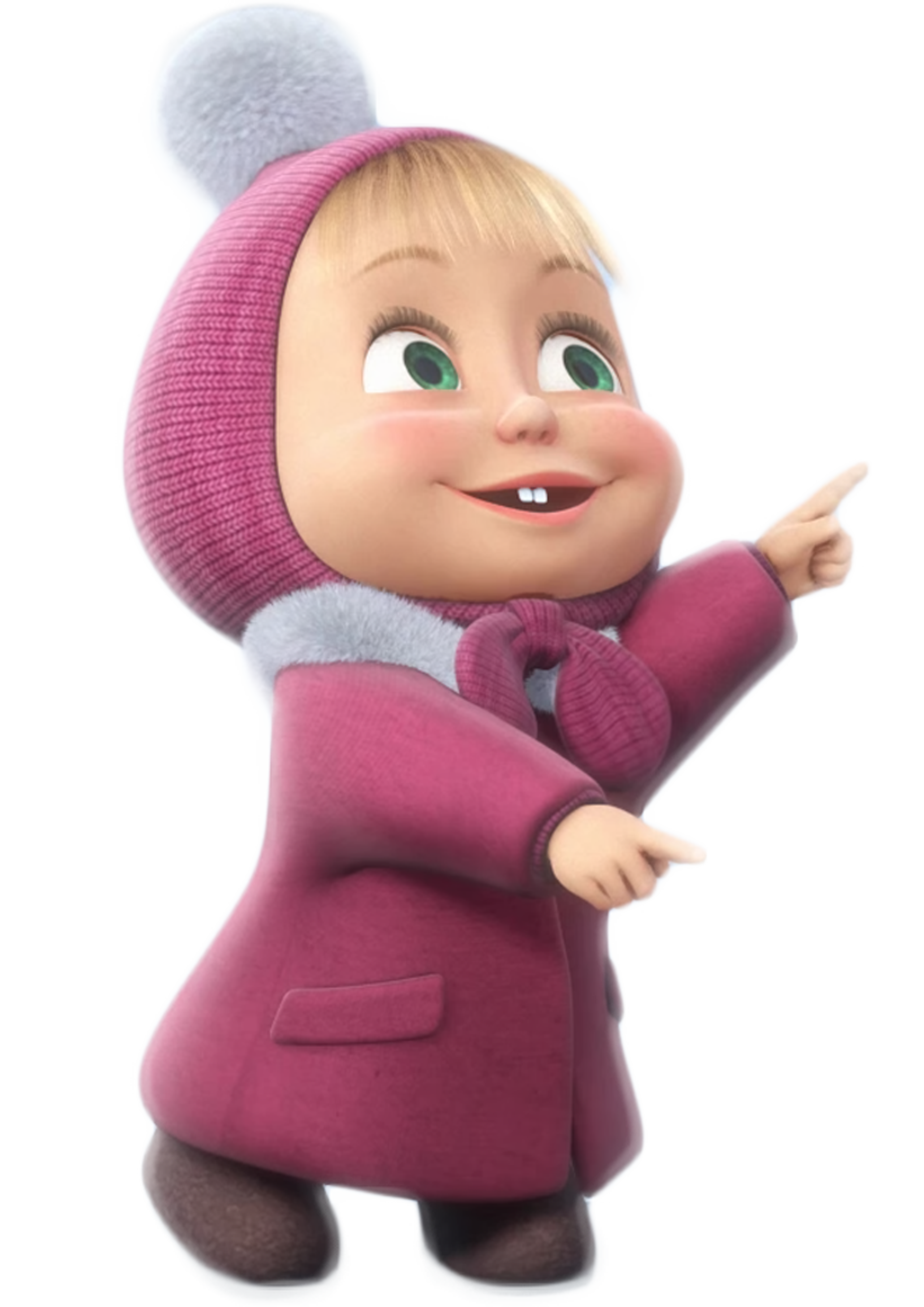 Masha And The Bear Transparent Png Clip Kartun