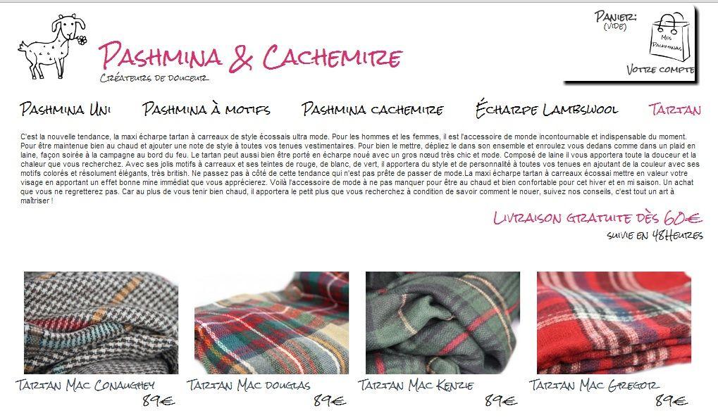 2d4b45fd6b8c La collection d étole, plaid et écharpe tartan homme et femme écossais de  couleur beige, écru , rouge, bleu, vert en laine à petit prix.