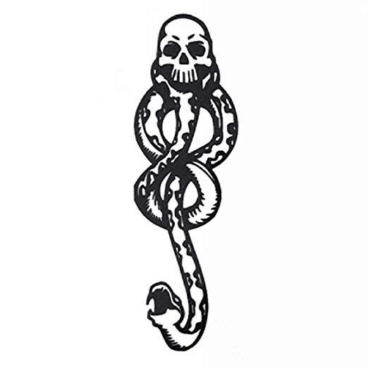COKOHAPPY 10 Pcs Magic Death Eaters Dark Mark
