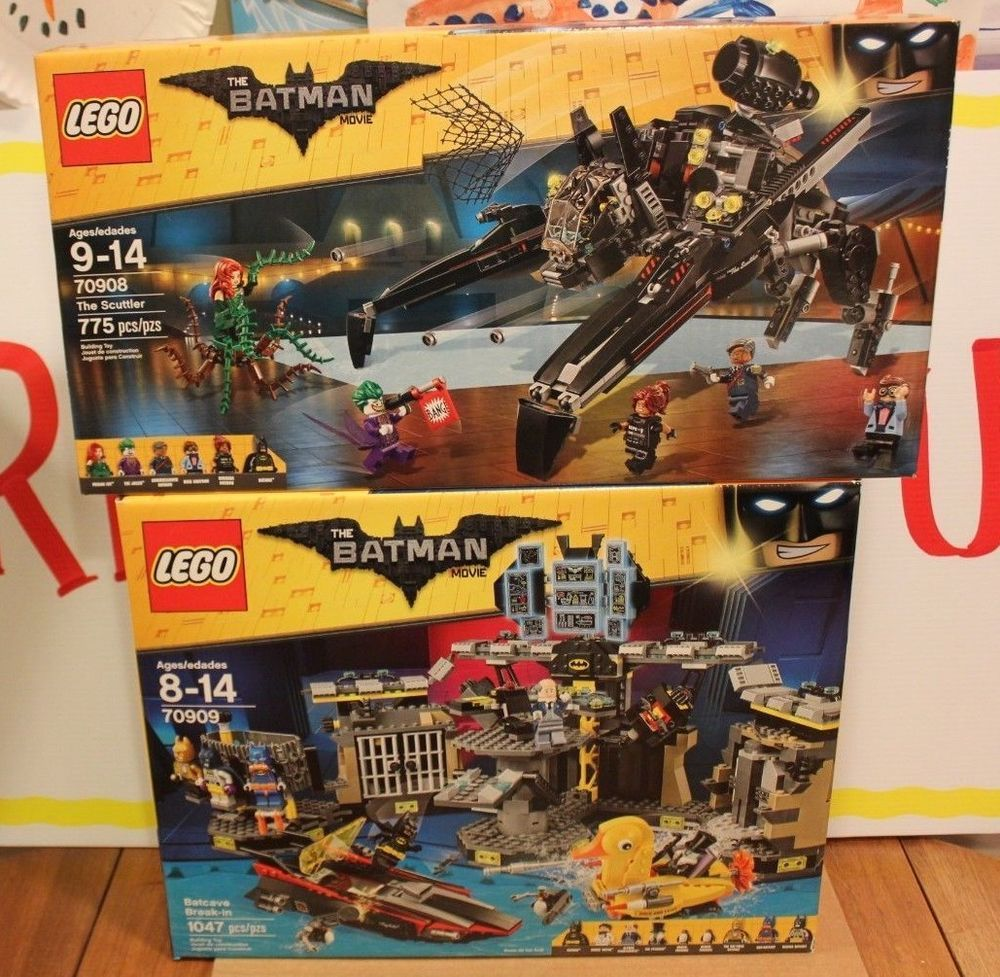 Lego 70908 Scuttler 70909 Batcave Break In Building Toys Toys And