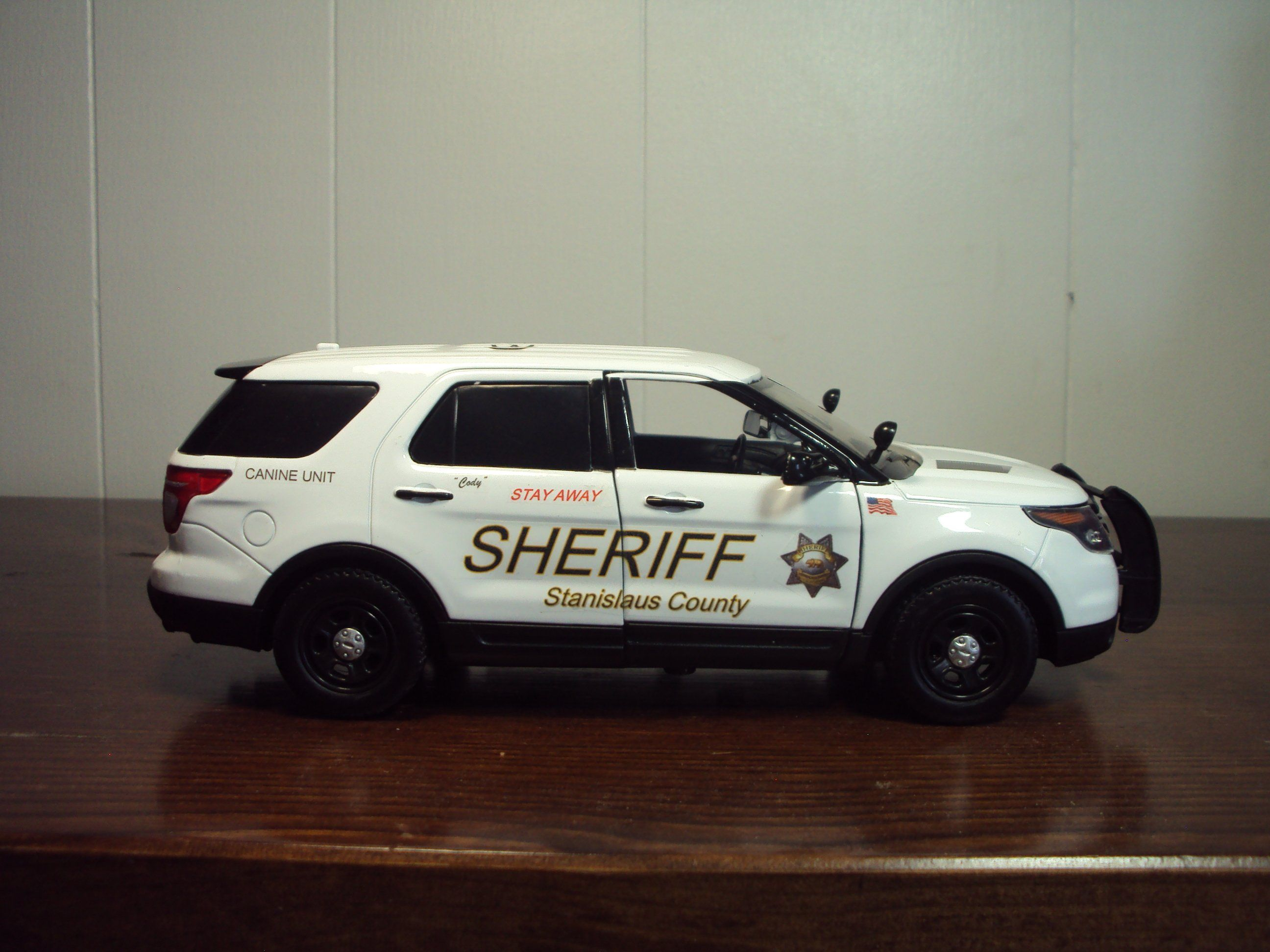 Stanislaus County California Sheriff S Department Canine Unit Stanislaus County Police Truck The Unit