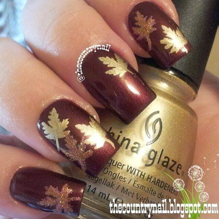 25 schöne Nail Art für den Herbst #autumnnails