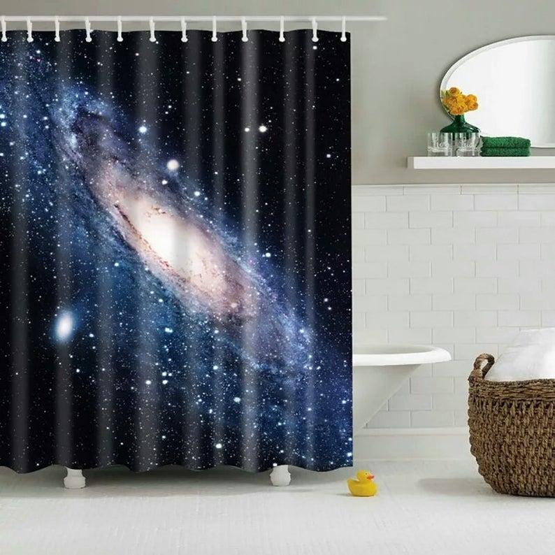 Dreaming Cool Shining Stars Space Universe Customize Design Bath