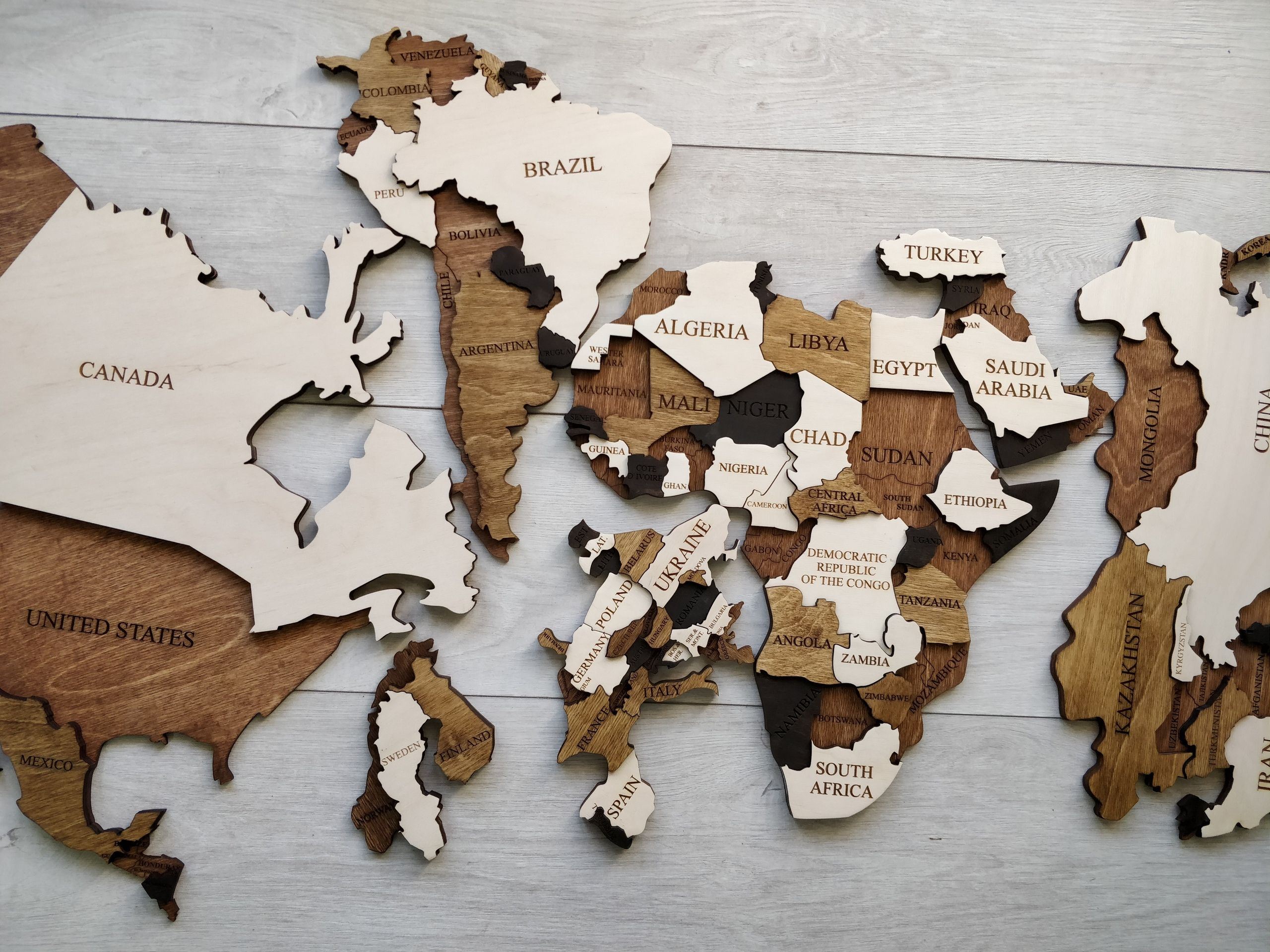 World Map Home Wall Decor Wooden Map World Map Wall Art Wood Wall Art Push Pin Map Rustic Vintage Travel Valentines Gift