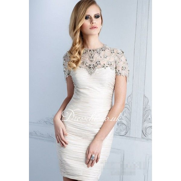 Formal White Dresses with Sleeves
