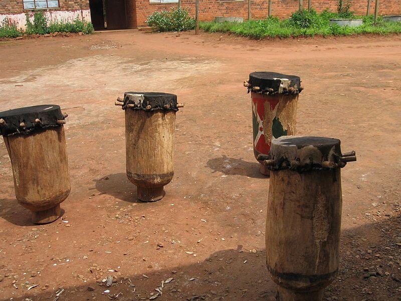 Drums from Gitega, Burundi