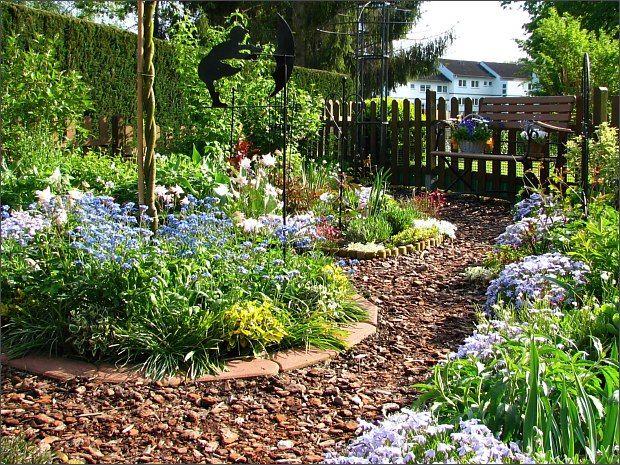 Das Wunderland Vor Meiner Haustur Ohne Rasen Garten Anlegen Garten Gartengestaltung