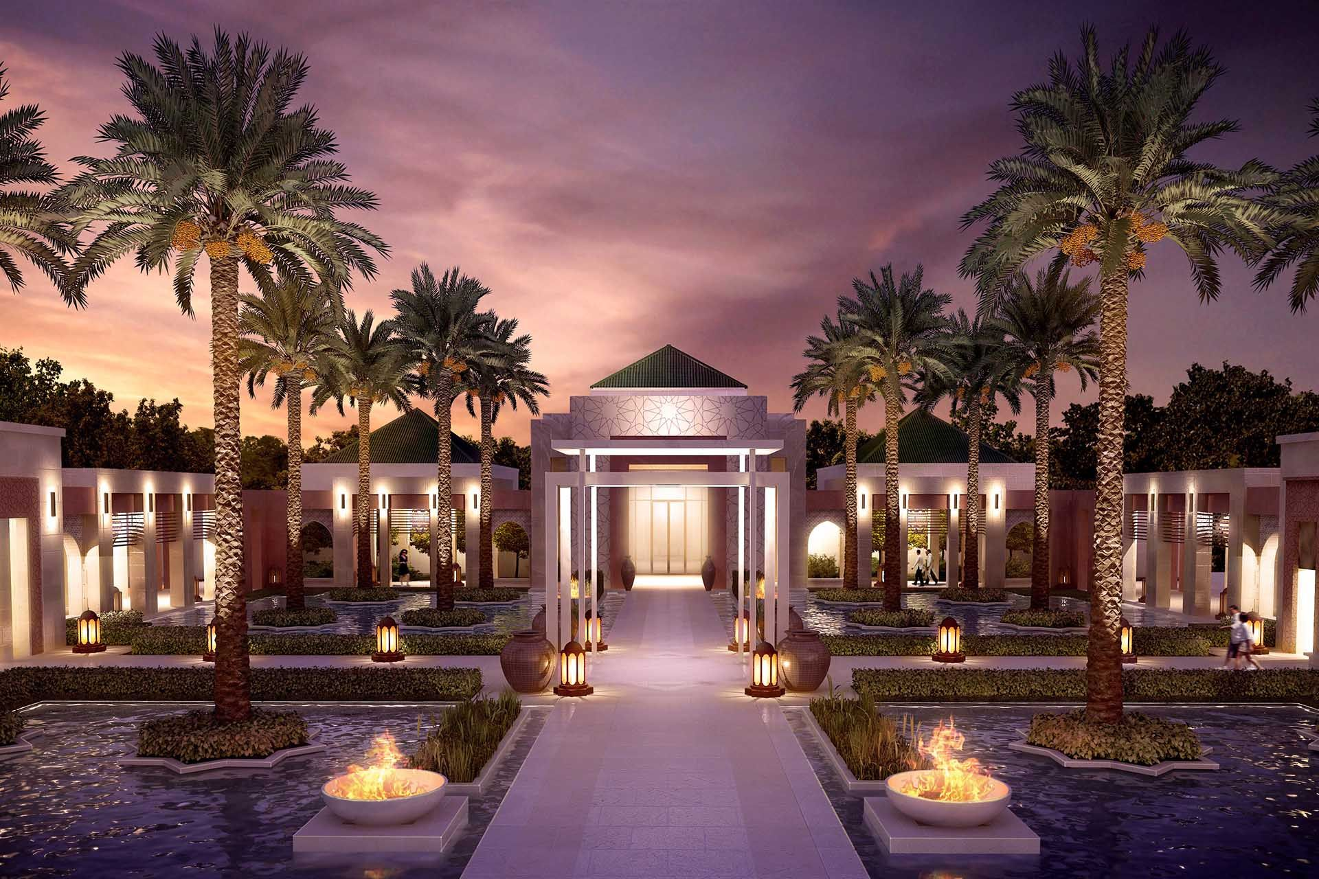 Hospitality Net Photo The Ritz Carlton Hotel Company L Unveils Plans For New Urban Resort In Rabat Morocco