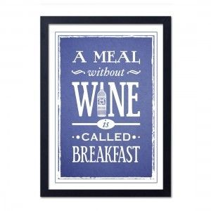 A Meal Without Wine Print by Thelostlanes - Found on HeartThis.com @HeartThis | See item http://www.heartthis.com/product/221054641738188892/