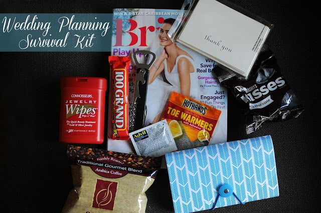 Wedding Planning Survival Kit The Perfect Gift For Your Favorite Bride To Be