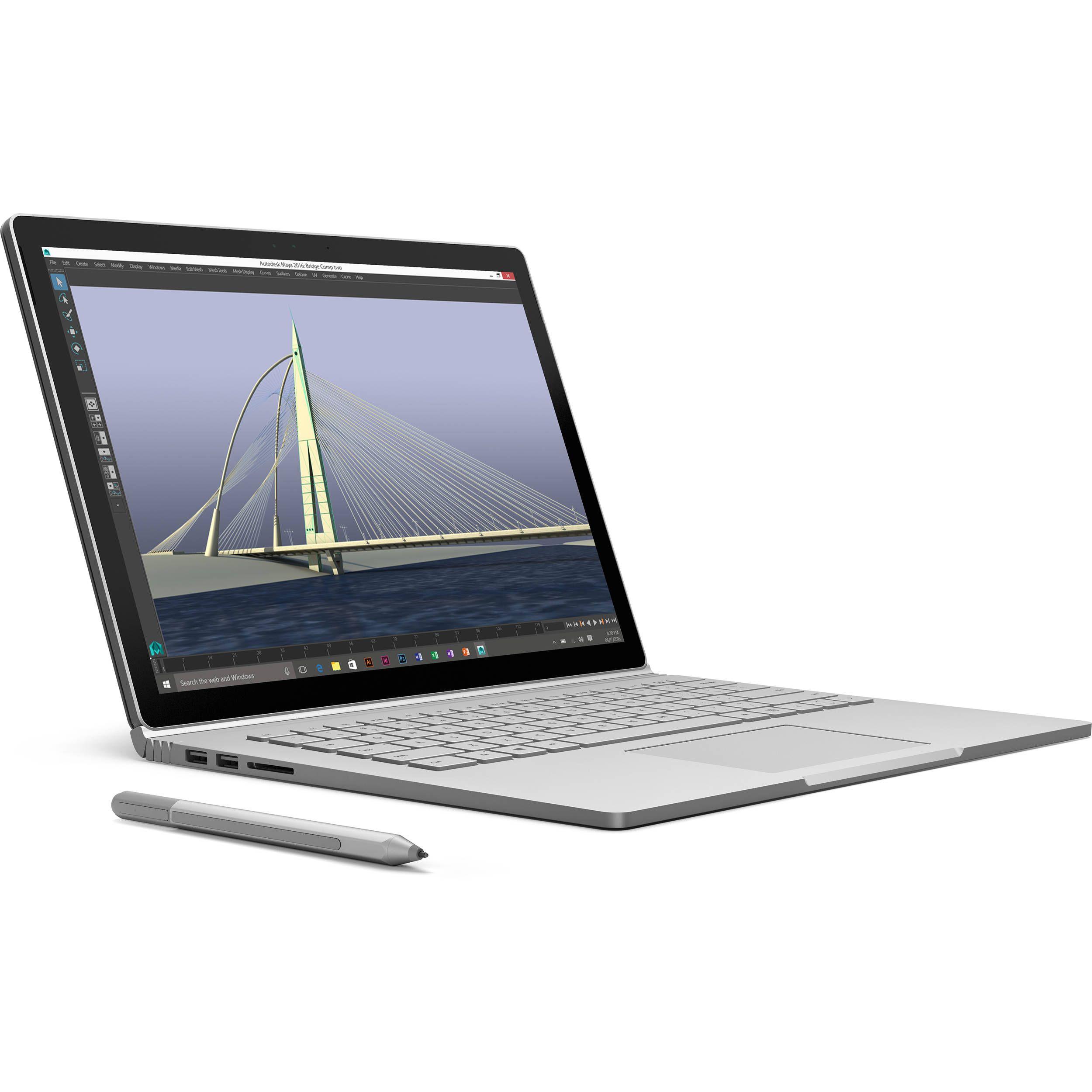 Main View Laptop Microsoft Surface Book Laptop Comparison