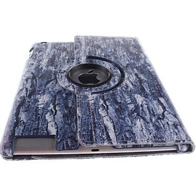 The Old Tree Pattern 360 Degree Rotating PU Leather Case with Stand for iPad 2/3/4 – EUR € 18.99