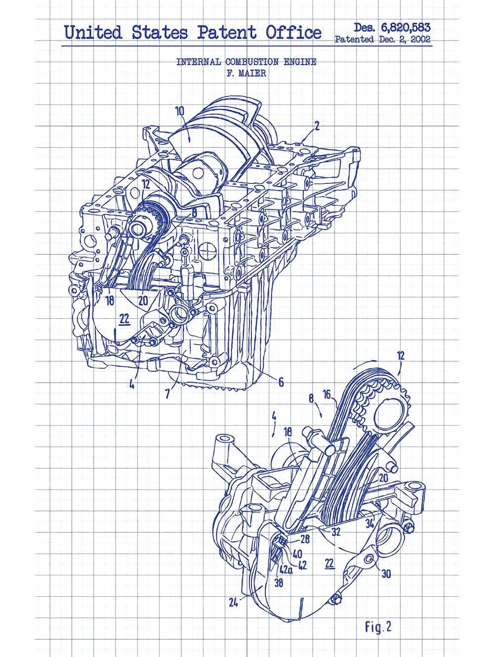 Combustion Engine No. 1 - F. Maier - 2002