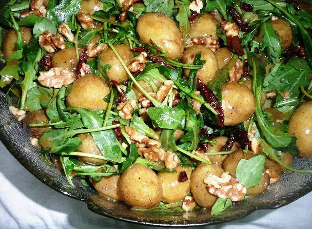 potatissallad med parmesan