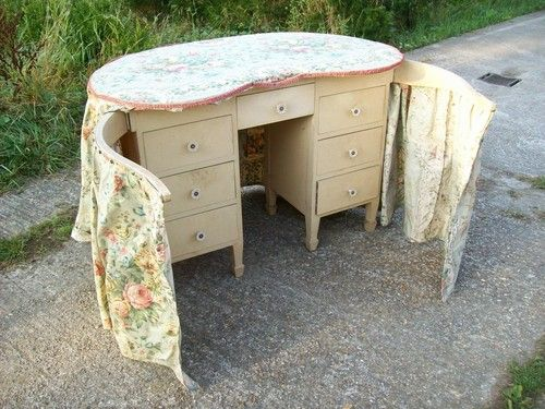 Kidney Shaped Dressing Table Another One With Extra Drawers