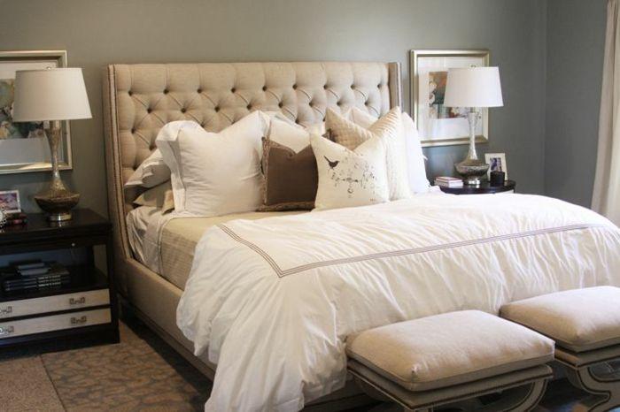 Les meilleures variantes de lit capitonné dans 43 images! | Cosy