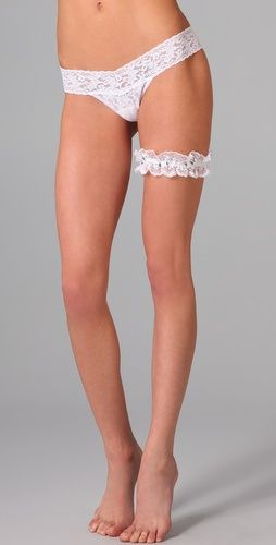 Yes please. Who knew Hanky Panky made garters.