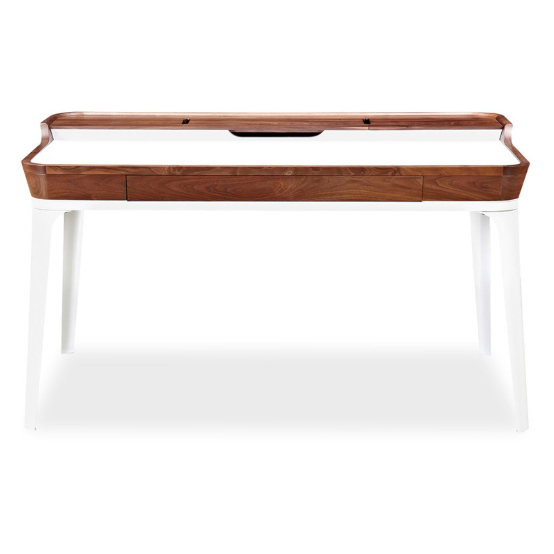 Kardiel Walnut Garbo Desk - DESK-GARBO1-WALNUT