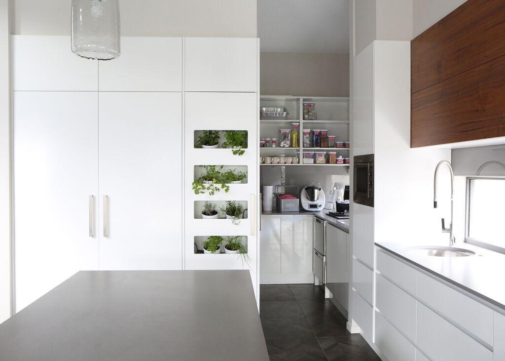 Kitchen Design Kitchen White 2Pac Lacquer American Walnut Brilliant Garden Kitchen Design Inspiration Design