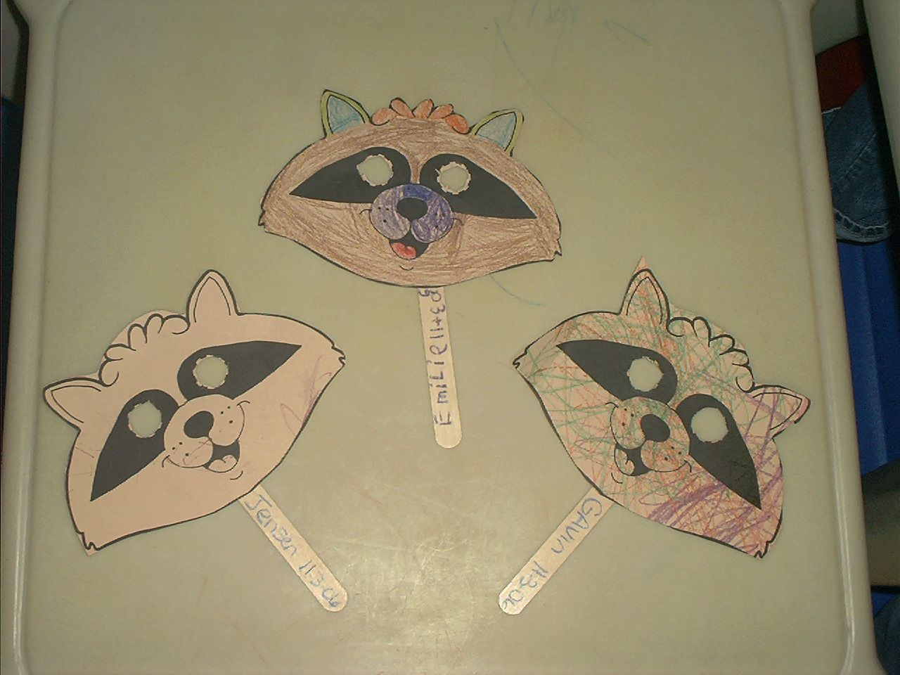 raccoon craft for kids | ... plate raccoon mask http www dltk kids ...