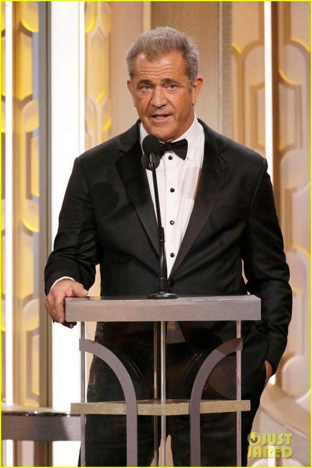 ❤️Mel Gibson❤️ Golden Globes 2016