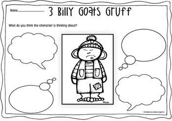3 Billy Goats Gruff- Book Companion