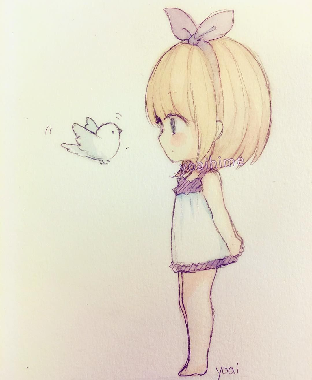 Ni a rubia pinteres for Cute sketches for your girlfriend